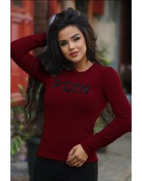 Bluza - koda 3061 - 3 - bordo