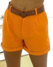 Kratke hlače - koda 2236 - 6 - oranžna
