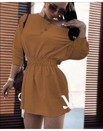 Obleka - koda 7470 - rjava