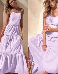Obleka - koda 2991 - vijolična