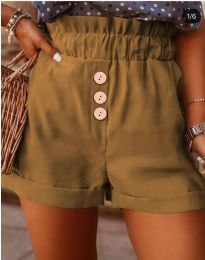 Kratke hlače - koda 9383 - rjava