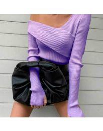 Bluza - koda 6250 - vijolična