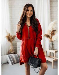Obleka - koda 6113 - rdeča