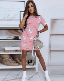 Obleka - koda 2906 - roza