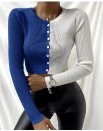 Bluza - koda 6366 - 2 - večbarvna