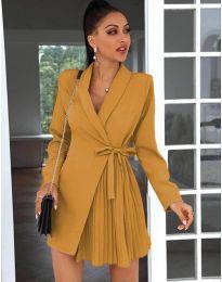 Obleka - koda 0333 - gorčica