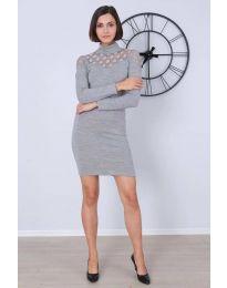 Obleka - koda 6099 - 1 - siva