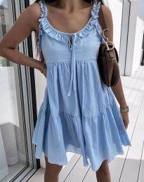 Obleka - koda 2540 - svetlo modra