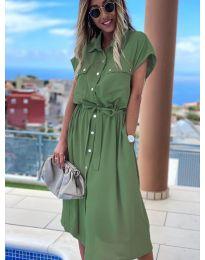 Obleka - koda 0014 - olivna