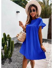Obleka - koda 744 - modrá