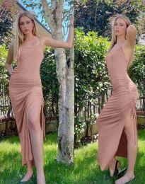 Obleka - koda 7858 - roza