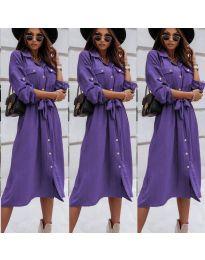 Obleka - koda 1510 - vijolična