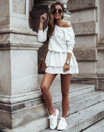 Obleka - koda 12051 - bela
