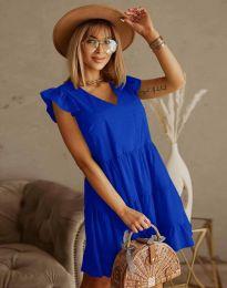 Obleka - koda 6224 - temno modra