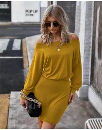 Obleka - koda 4447 - gorčica