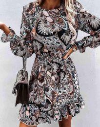 Obleka - koda 6448 - večbarvna