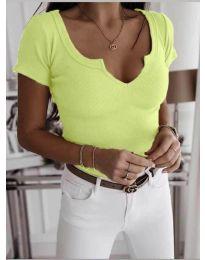 Majica - koda 3667 - neonsko rumena