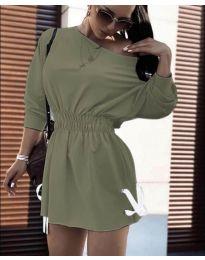 Obleka - koda 7470 - olivna