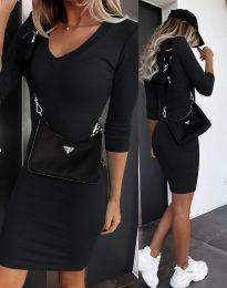 Obleka - koda 7592 - črna