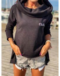 Bluza - koda 7878 - črna