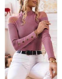 Bluza - koda 2771 - 4 - roza