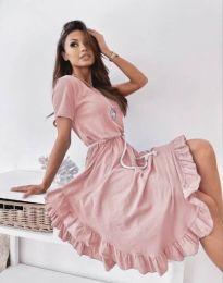 Obleka - koda 11893 - roza