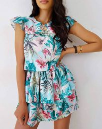 Obleka - koda 7398 - večbarvna