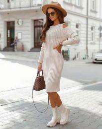 Obleka - koda 8203 - bež