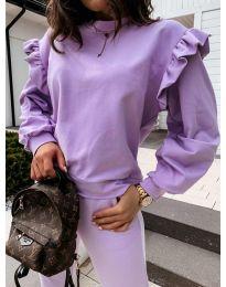 Bluza - koda 6613 - vijolična