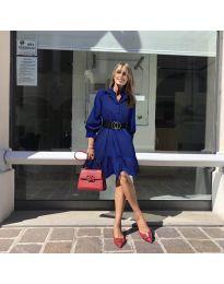 Obleka - koda 960 - temno modra