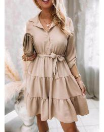 Obleka - koda 6970 - bež
