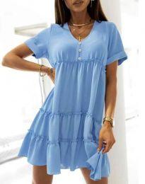 Obleka - koda 7205 - svetlo modra