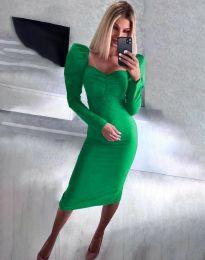Obleka - koda 3865 - zelena