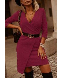 Obleka - koda 9977 - bordo