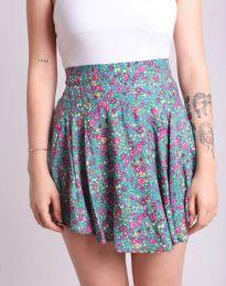 Пола тип панталон с атрактивен десен на цветя - код 2022 - 2