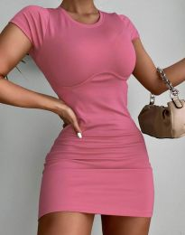 Obleka - koda 12833 - roza