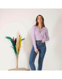 Bluza - koda 6365 - svetlo vijolična