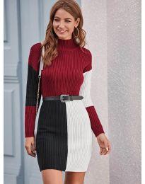 Obleka - koda 9935 - 3 - večbarvna