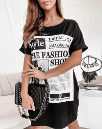 Obleka - koda 7775 - črna