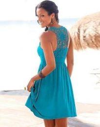 Obleka - koda 0254 - 1 - modra