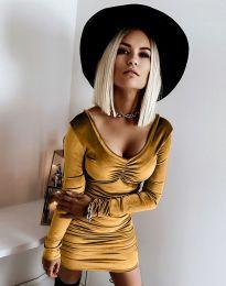 Obleka - koda 12080 - gorčica