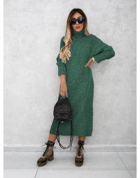 Obleka - koda 0590 - olivna