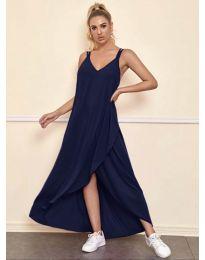 Obleka - koda 3083 - temno modra