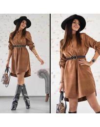Obleka - koda 9601 - temno rjava