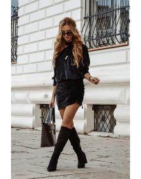 Obleka - koda 8987 - črna