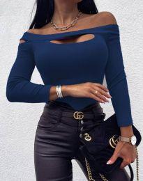Bluza - koda 11601 - 9 - temno modra