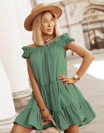 Obleka - koda 6969 - olivno zelena