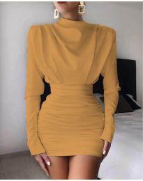 Obleka - koda 8257 - gorčica