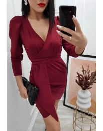 Obleka - koda 0515 - bordo