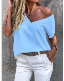 Majica - koda 0589 - svetlo modra